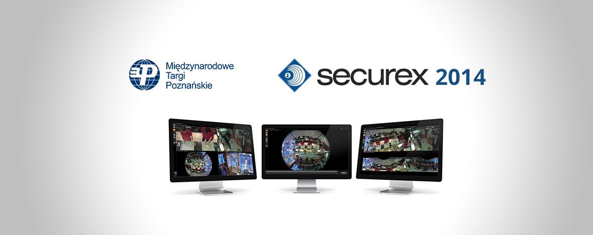 Targi Securex 2014 MTP. Zapraszamy dozapoznania się znaszą technologią nastoisko nr54 mieszczące się wPawilonie 8A.