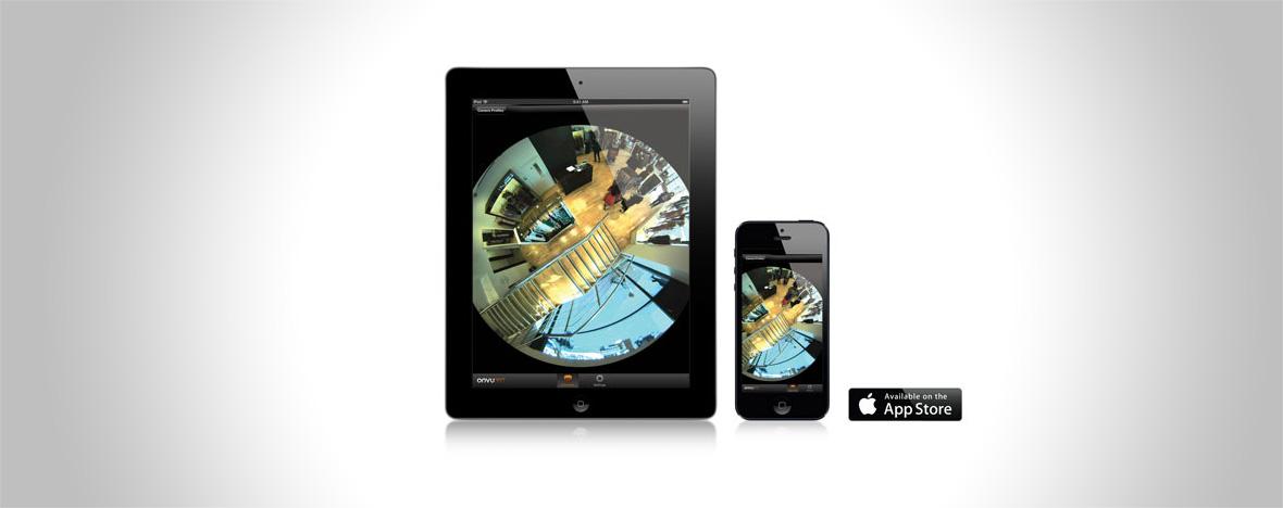 Aplikacja OnVu360 Oncam Grandeye wmagazynie Zabezpieczenia