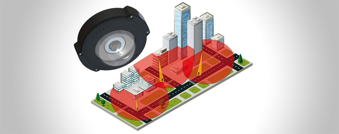 Monitoring miejski zkamerami 360° Oncam Grandeye. Przeczytaj onas wmagazynie Zabezpieczenia.