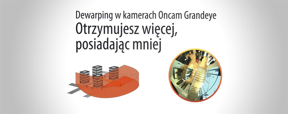 """Wmagazynie Twierdza artykuł oopatentowanej technologii Oncam Grandeye – """"Dewarping wkamerach Oncam Grandeye. Otrzymujesz więcej, posiadając mniej."""" Przeczytaj artykuł Anety Rejman"""