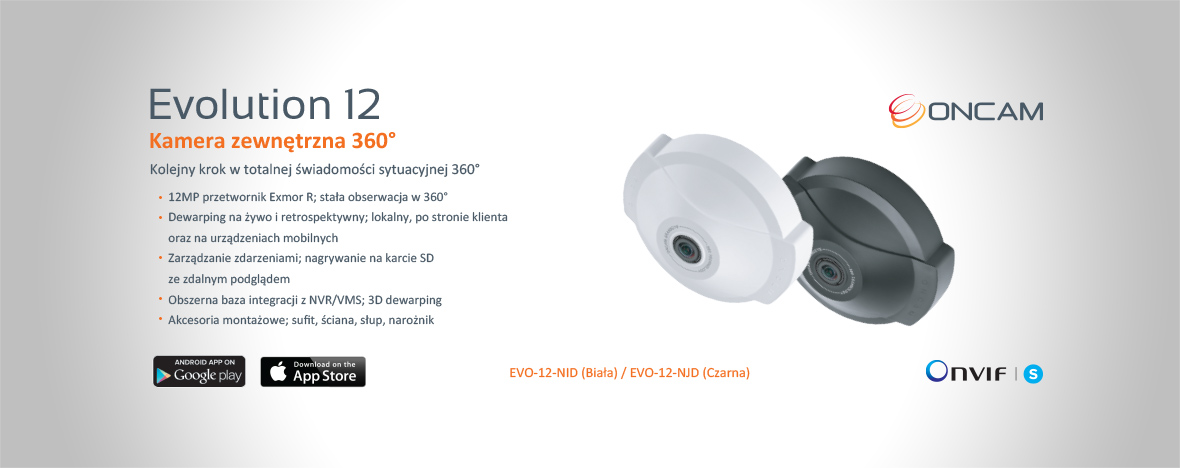 Oncam, producent kamer 360 stopni, prezentuje najnowsze kamery 12 mpx!